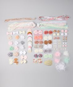 Look what I found on #zulily! My Sunshine Shoppe Vintage DIY Hair Accessory Kit by My Sunshine Shoppe #zulilyfinds