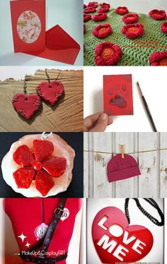 Red gift by Krisztina Sólyom on Etsy--Pinned with TreasuryPin.com