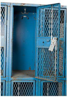 raw blue lockers