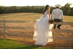 If I had a country wedding...