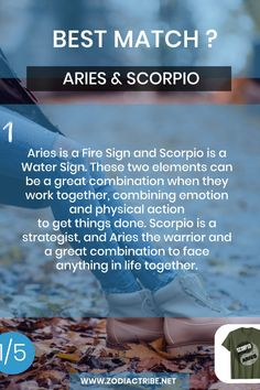 Find your Zodiac Signs Compatibility for all zodiac signs, for couples, relationships and love matches and find your Couple shirts to match. Scorpio Aries Compatibility, Aries And Scorpio, Scorpio Zodiac Facts, Signs Compatibility, Aries Horoscope, Aries Quotes, Aries Relationship, Scorpio Relationships, Couple Relationship