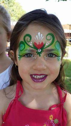 Natalie Mcgriff Anna face paint