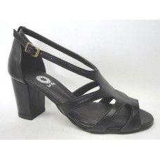 Summer Boot em couro Preto. La Vile Calçados em couro legítimo. Calçados que produzimos através de encomendas do nº 30 ao nº 33 www.lavile.com.br
