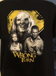 Best Horror Movies, Classic Horror Movies, Horror Movie Collection, Wrong Turn, Best Horrors, Fade To Black, Movie T Shirts, I Wallpaper, Horror Art