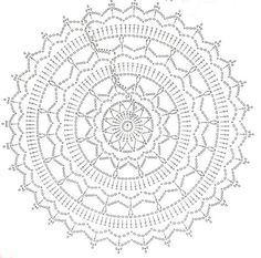 Little Treasures: Crochet Mandala Free Pattern -{Honoring Wink's work}