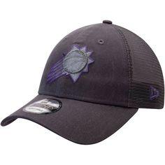 release date 6eb65 f0979 Men s Phoenix Suns New Era Graphite Velocity Trucker 9TWENTY Adjustable  Snapback Hat, Sale   17.99 - You Save   6.00