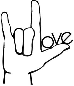 sign language i love you