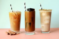 Are you over those flimsy plastic cups filled with cold, bland coffee that was probably leftover from the day before? Iced coffee deserves better, and so do you. We challenge you to make your own iced coffees at home, and here we give you 7 easy, irresistible hacks to try all week long.