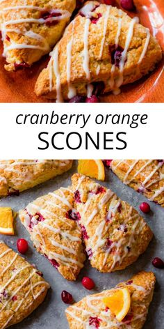 Factors You Need To Give Thought To When Selecting A Saucepan Deliciously Flaky, Crumbly, Tender Cranberry Orange Scones. The Secret Is Frozen Butter And Cold Heavy Cream Recipe On Cranberry Orange Scones, Orange Zest, Christmas Scones, Just Desserts, Delicious Desserts, Heavy Cream Recipes, Cream Scones, Scone Recipe With Heavy Cream, Cranberry Recipes