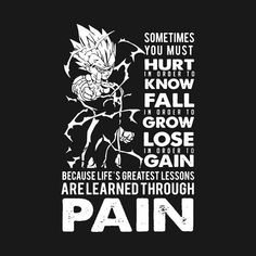 Shop Vegeta T-shirt vegeta t-shirts designed by icool as well as other vegeta merchandise at TeePublic. Dbz Quotes, Gym Logo, Dbz Characters, Deadpool, Warrior Quotes, Fitness Motivation, Quotes Motivation, Anime Merchandise, Bodybuilding
