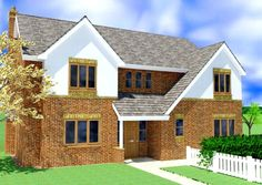 House Plans Uk, Bungalow House Plans, Custom Home Designs, Custom Homes, Location Plan, Brick Cottage, Boundary Walls, Porch Area, Floor Layout