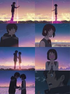Kimi no Na wa - Your name Watch Your Name, Kimi No Na Wa Wallpaper, Manga Anime, Anime Art, Your Name Anime, Tamako Love Story, Ghibli Movies, Manga Couple, Anime Films