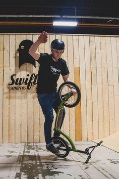 Matti spinning! What do you call this one @mattihemmings? @thebikeexpo @swiftyair