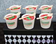 """Mario Party - """"Luigi"""" italian ice ....genius detail"""