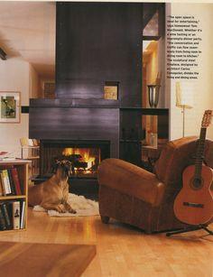 Stellar Metal Fireplace Surround
