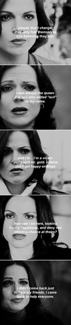 regina mills through the seasons  #ouat