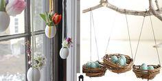 Inspirações lindas para decorar sua casa para a páscoa e receber bem os amigos e família. Decoração de Páscoa é no Casa de Irene, vem ver!