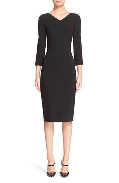 Michael Kors Pebble Crepe Sheath Dress