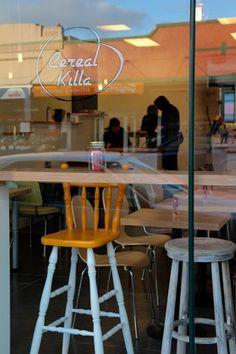 Cereal Killa cafe, Dominion Rd, Auckland.