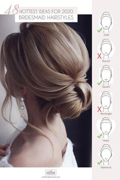48 Hottest Bridesmaid Hairstyles For 2020 + Tips Advice ❤ Looking for the suitable black women wedding hairstyles? We are offering some interesting wedding hairstyles that look great. Best Wedding Hairstyles, Bridesmaid Hairstyles, Short Hairstyles For Women, Wedding Hair Extensions, Wedding Hair Clips, Extensions Hair, Medium Hair Styles, Curly Hair Styles, Hair Medium