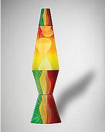 Rasta Leaf Lava Lamp - 17
