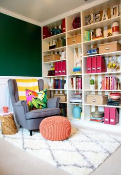 Before and After Reading Room - Home Decorating Ideas - Good Housekeeping