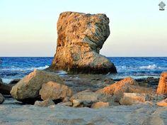 "Al-Gharam Beach, Mersa Matruoh مرسى مطروح شاطئ الغرام Al-Gharam Beach, Mersa Matruoh the largest of Marsa's recommended beaches. Despite being 10 Miles out of town, it is actually facing town, occupying the last stretch of land around the lagoon before it opens up to the great sea. مرسى مطروح شاطئ الغرام أحد أهم الشواطئ الموجودة بمدينة مرسى مطروح وأجملها استمد شهرته من صخرة ""الغرام "" يقع ""شاطئ الغرام""، أكبر شواطئ مرسى مطروح، على بُعد حوالي عشرة أميال فقط من مدينة مطروح."