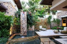 awesome courtyard