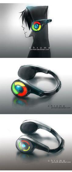 Chrome's Headphone Designs