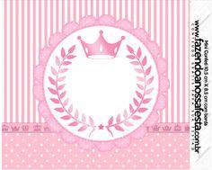 Mini Confeti Kit Realeza Rosa