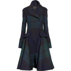 mcq alexander mcqueen black watch plaid coat - Google Search