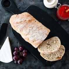 Eltefrie baguetter med hasselnøtter. Deilig til supper - og nyyydelig til ost. Oppskrift på @trinesmatblogg #matglede #bakeglede #nokneadbread #eltefritt #thefeedfeed #feedfeed #f52grams Tex Mex, Bread Baking, Baguette, Recipies, Food And Drink, Image, Bread Making, Recipes, Food Recipes