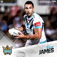 Ryan James was awarded the Paul Broughton Medal as the Gold Coast Titans 2016 #NRL Player of the Year as well as receiving the Members MVP. Zeb Taia was the recipient of the Coach's Award, with Ash Taylor named Rookie of the Year.