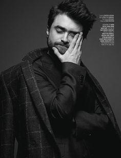 Elena-Radcliffe — Daniel Radcliffe by Karl Simone for August Man...