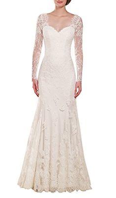 Harshori Sweetheart Bodice Long Sleeve A-Line Wedding Dresses 20 Ivory Harshori http://www.amazon.com/dp/B00T3WS2QK/ref=cm_sw_r_pi_dp_qoh8ub0BR0C9Q