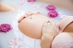 Maternity Milk Bath Photo
