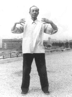 Yao_ZhanZhuang - Standing Meditation from Warrior Fitness Qigong, Xing Yi Quan, Chinese Martial Arts, Musashi, Taoism, Martial Artists, Tai Chi, Yin Yang, Kung Fu