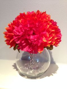 Wedding Centerpiece / Quinceanera Flowers / by EmpatheticElephant, $8.00
