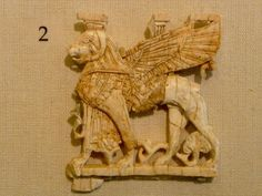 Sumerian  ivory lion  Iraq Museum