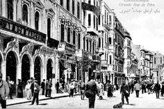 şimdi yerinde #Odakule bulunan, Bon Marche Mağazasının binası 1850 yılında inşa edilmişti... #birzamanlarİstanbul #istanlook