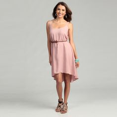 @Overstock - Incredibly stylish, this belted dress from Tiana B features a fashionable braided belt. A scoop neck and sleeveless design finishes this flattering dress.http://www.overstock.com/Clothing-Shoes/Tiana-B-Womens-Dusty-Rose-Belted-Dress/6452729/product.html?CID=214117 $29.99
