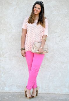 Macarons  #fashion #style #outfit, Zara in T Shirts, Aldo in Clutches, Dorothy Perkins in Pants, Bershka in Heels / Wedges
