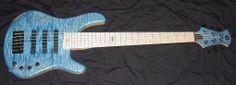 Stambaugh Musical Designs Custom Double-cutaway 6-string Bass Guitar