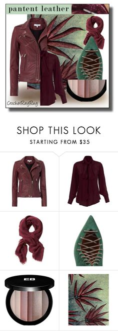"""""""Patent Leather"""" by sabine-713 ❤ liked on Polyvore featuring IRO, Banana Republic, Malone Souliers, Edward Bess and NOVICA"""