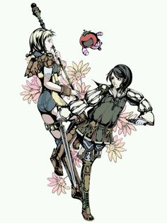 Penelo and Larsa Final Fantasy 12