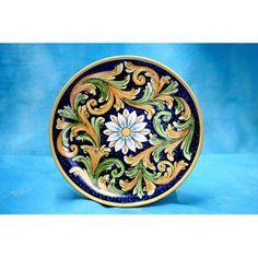 Piatto - Ceramiche Audax Caltagirone - Sicily