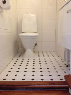 Kylpyhuoneen kaikki kalusteet uusittu remontin yhteydessä.