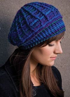Totally Tam free pattern. Patterns for both a women's hat and a men's hat.