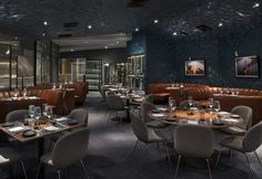 Hospitality Design - Beleco Redesigns Nick + Stef Steakhouse in Los Angeles, designed by Beleco, Los Angeles Bar Lounge, Lounge Areas, New Years Eve 2018, Best Steakhouse, Bar Design Awards, Hospitality Design, Contemporary, Modern, A Table