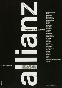 """""""allianz"""", a group of swiss modern artists, was shown at the helmhaus in zürich. - Google Search"""